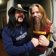 Chris and Vinnie Paul Seattle airport on 12-16-12