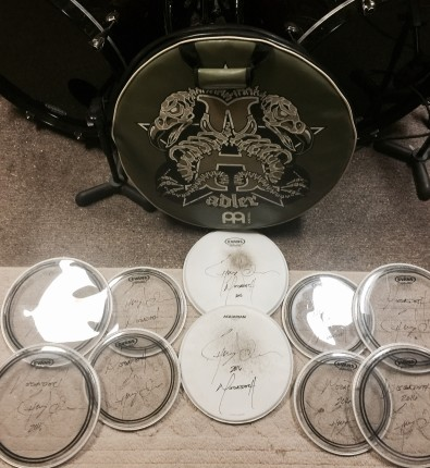 Megadeth Touring Drum Heads