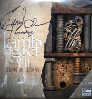Strum Und Drang_signed album_Front Cover