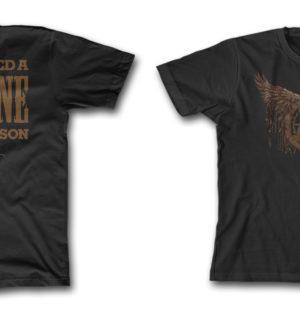 Toddler Metal Eagle Shirt